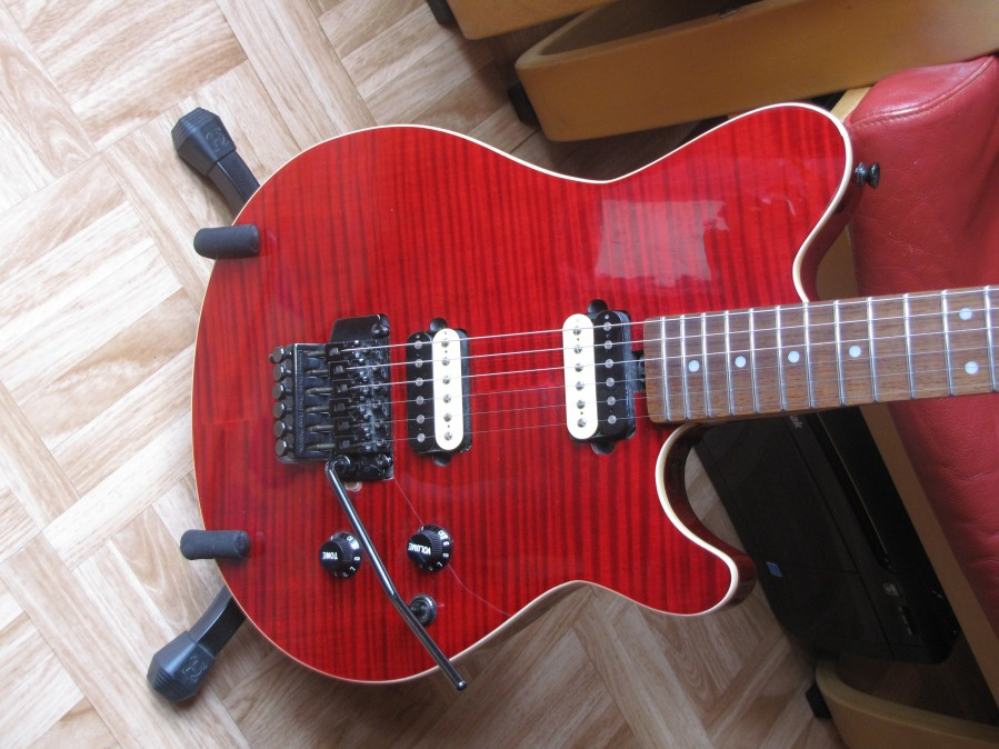 Vintage VH51FR Guitar mods – Bluesprints mkII